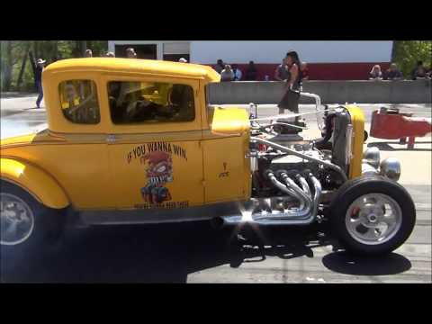 SKULL GARAGE 2018 (EP.8) HOT ROD REVIVAL 3 AT GREER DRAGWAY 4/21/18