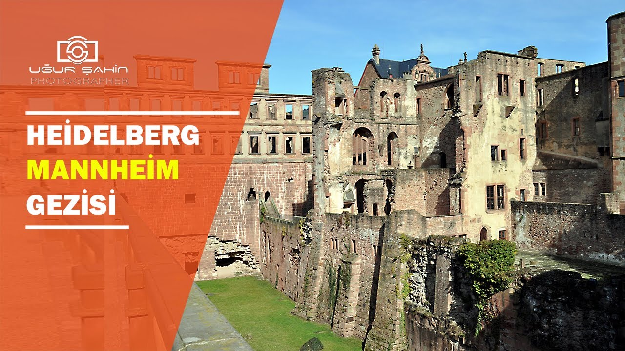 Heidelberg Mannheim Muhtesem Sehirler Ve Almanya Gezisi Vlog 2 Youtube