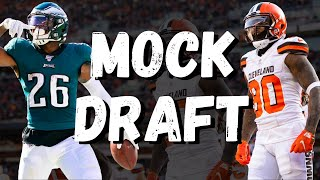Fantasy Football MOCK DRAFT | FFP's Draft Tips/Football Talk!