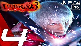 Devil May Cry 3 HD - Gameplay Walkthrough Part 4 - Nevan Boss Fight (Remaster) PS4 PRO