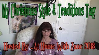 My Christmas Style& Holiday Tag...Hosted By... At Home With Zane