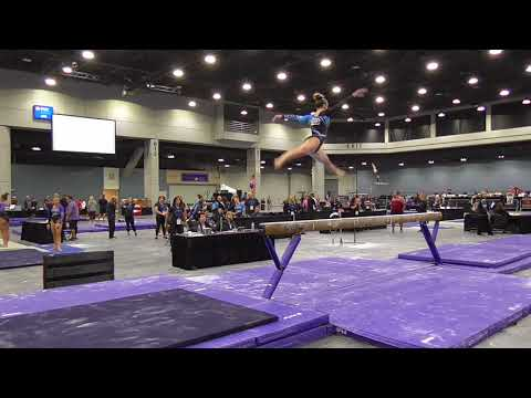 Abigail Johnston - Balance Beam - 2018 Women's Junior Olympic National Championships