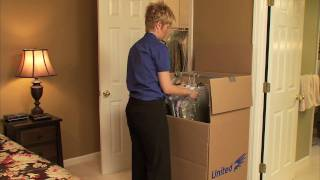Moving Tips - United's Expert Advice: How to Pack your Bedroom