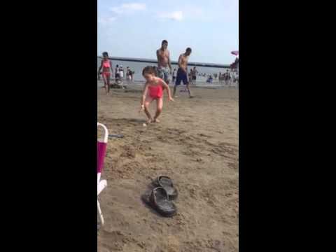 Rye playland beach hop scotch
