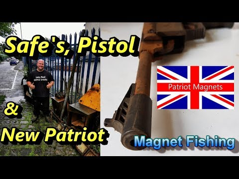 Safe's, Pistol And New Patriot, Magnet Fishing