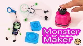 Monster High Maker Machine Create A Frankie Stein Mini Doll Craft Toy Playset - Cookieswirlc Video