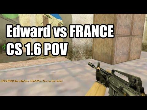 POV: Edward vs. FRANCE @ENC with ACE UKRAINE CS 1.6 Demo