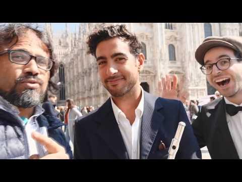 Caravan Canta Al Papa E Il Re Di Marocco A Milano إيطاليون يغنون للبابا والملك