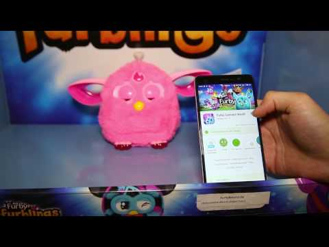 Установка приложения Furby Connect World