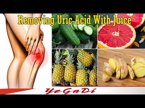 Remove Uric Acid From The Body & Reduce Joint Pain With Amazing Juice- YeGaDi