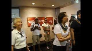 Girl Scouts of Japan Commissioners farewell comments