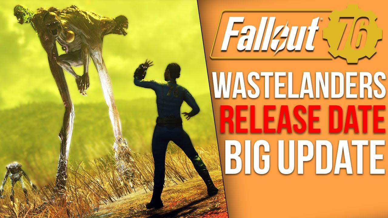 Fallout 76 News - Huge Wastelanders DELAY & New Images, Private Servers Next Week, Atomic Shop