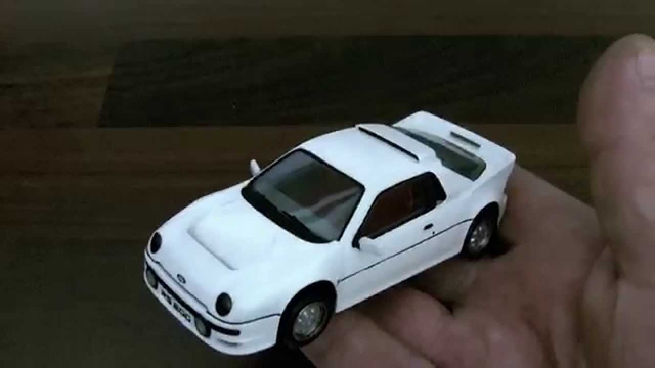 Starter 1 43 Scale Resin Model Ford Rs200 Road Car Review Youtube