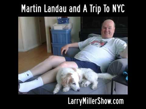 Martin Landau and A Trip To NYC