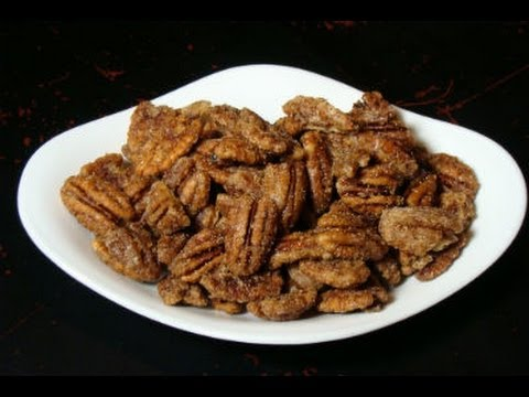 Spiced Pecans - Sweetened Pecans with Spices - Holiday Recipe