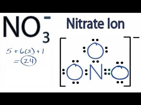 nitrate ion lewis structure how to draw the lewis structure for Shape of Nitrate