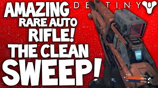 Destiny: Clean Sweep XI - Amazing Rare Dark Below Auto Rifle - How To Get & PvP Review