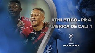 Ath. Paranaense vs. América de Cali [4-1]   RESUMEN   Octavos de Final   CONMEBOL Sudamericana 2021