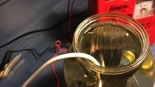 Получение водорода из воды