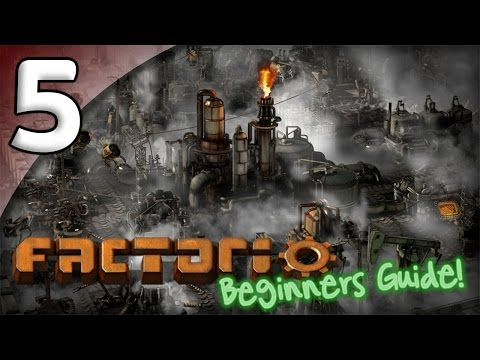 Factorio Beginner's Guide - 5. Green Science - Let's Play Factorio Gameplay