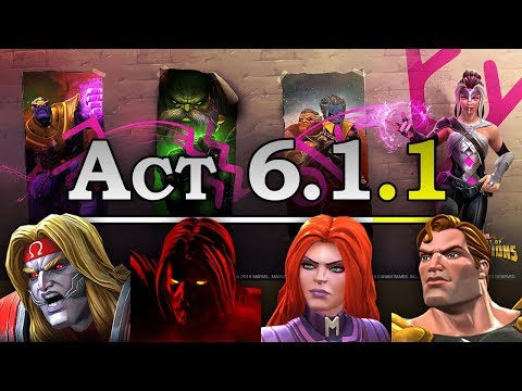 Act 6 - Chapter 1 - Quest 1 | Marvel Contest of Champions Live Stream