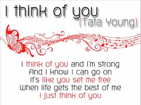 i think of you - tata young