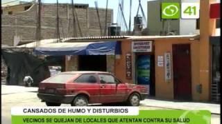 Vecinos de Victor Larco se quejan de locales que atentan contra su salud - Trujillo