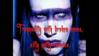 Snake Eyes And Sissies - Marilyn Manson [Lyrics, Video w/ pic.]
