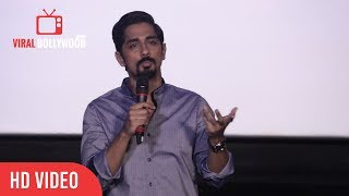 Siddharth Full Speech At The House Next Door  2017 Official Trailer | Viralbollywood