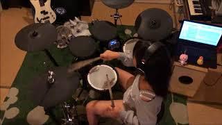 バンドで演奏した『Limited』叩いてみた動画でUP~❤ かっこいい曲で大...