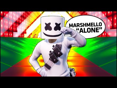 Fortnite MARSHMELLO - ALONE with Creative Music Blocks
