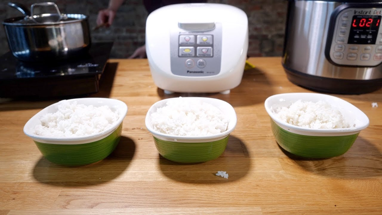 Rice Cooker Vs Instant Pot Vs Stovetop Which Makes The Best Rice