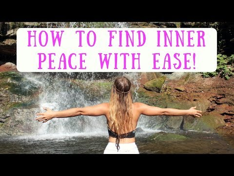 How to find INNER PEACE in 3 EASY steps :)