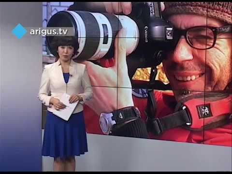 The World In Faces photo project TV news. Nov. 2016