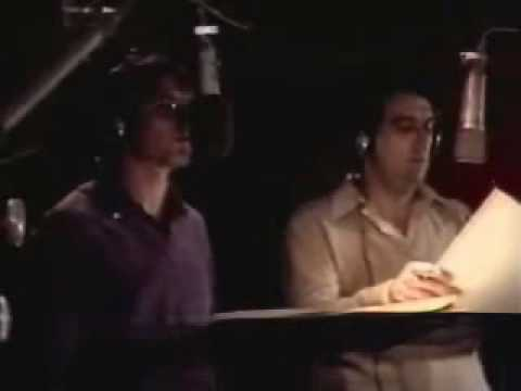 John Denver & Plácido Domingo in Studio - Perhaps Love (1981)