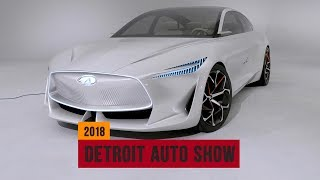 Infiniti Q Inspiration Concept previews stunning sedan at the Detroit Auto Show  | NAIAS 2018