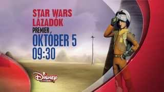 Star Wars: Lázadók - Premier október 5-én, vasárnap 9.30-kor csak a Disney Csatornán!