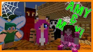JINX'S HALLOWEEN PARTY! | Amy & Max! Ep.59 | Minecraft