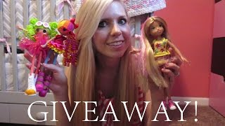 Giveaway & Review Lalalopsy & Moxie Girl Dolls! (HairStylistHeather)