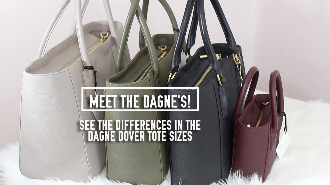 5e70427f7430 What s the Difference in the Dagne Dover Tote Sizes (Giveaway has ...