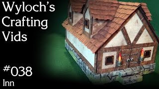 How to Build a Tavern / Inn for Dungeons & Dragons, Pathfinder Terrain (WCV 038)