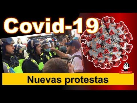 Protestas en Inglaterra ☣ Cifras de la pandemia COVID 19 ☣ Septiembre 19 2020