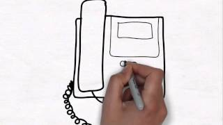 How To Draw pencil Art Office TelePhone
