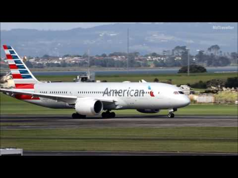 17 Departures in 25 Minutes from Auckland International Airport