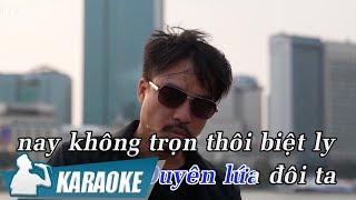 [KARAOKE] Mang Trọn Niềm Đau - Quang Lập BEAT TONE NAM