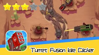 Turret Fusion Idle Clicker Walkthrough Battle to Save the Earth Recommend index three stars