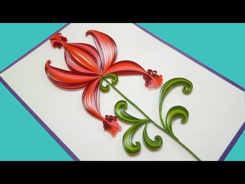 Sections in a research paper quilling
