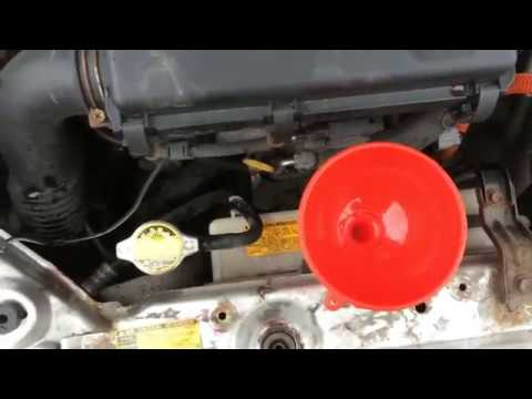 Замена охлаждающей жидкости (антифриза) двигателя (блока цилиндров).