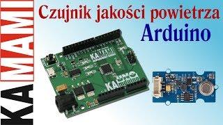 Czujnik jakości powietrza – Air quality sensor v1.3 oraz KAmduino UNO
