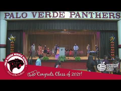 Palo Verde Middle School 8th Grade Promotion 2021 - Wildcats, Cougars and Bobcats